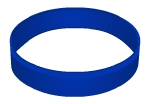 Swinger Lifestyle Dark Blue Wristband