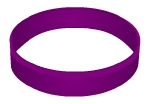 Swinger Lifestyle Purple Wristband