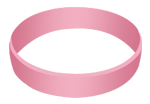 Swinger Lifestyle Pink Wristband